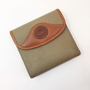 Dooney and Bourke Vintage tri-fold Wallet